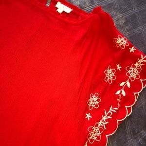 Umgee red cover up or dress!